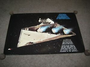 1996 Star Wars Movie Poster Mint Condition A New Hope PTW748 Lithograph
