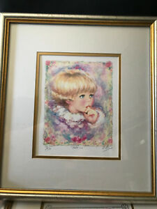 Set Of 5 Limited Edition Signed Mary Vickers Lithographs - low numbers!