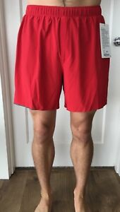 Lululemon Men's Size XL Surge Short 6 Red BLDR Liner Core NWT Updated OOM Run