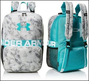 Teal Punch Sport Girl Under Armour Change Up Backpack Flipped Around School Bag