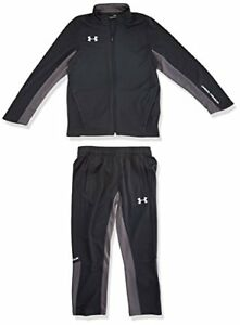 Under Armour Boys Y Challenger II Knit Warm-up Set Anthracite X-Large