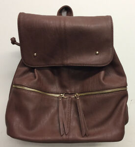 Hynes Eagle Faux Leather Backpack College Shoulder Bag Diaper Bags UT58-C10