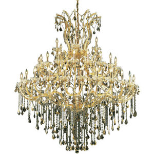 2800 Maria Theresa Collection Chandelier D:60in H:72in Lt:49 Gold Finish (Roy...
