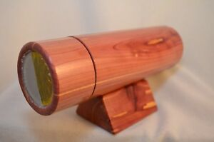 Solid Red Cedar oil cell kaleidoscope by Harold Bieber!