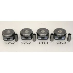 Peugeot 1.6 EP6DT Turbo Set of 4 Pistons with Rings 0.50mm GBP 199.99