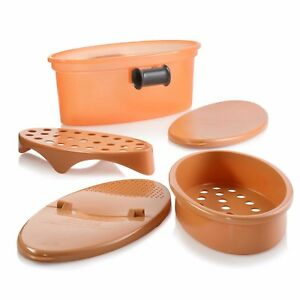Pasta N More 5 In 1 Perfect Non Stick Pasta Cooker Copper As Seen On TV NEW $19.99