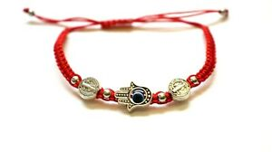 12 pcs Lucky Charm San Benito with hand and eye Bracelet nice cute beautiful. $12.99