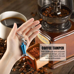 Manual Hand Coffee Bean Grinder Spice Pepper Mill Muller Portable Keyrings Chain