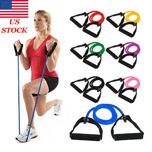 Resistance Band pipe Workout Exercise Elastic Band Fitness Equipment Yoga 120CM