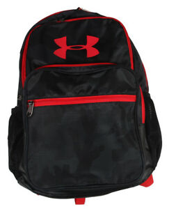 Under Armour UA Storm Hall Of Fame Boys Backpack School bag BLACKRED