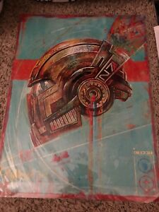 Mass Effect Tagged N7 Lithograph Signed #50500