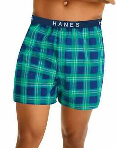 Hanes 5 Pack Boxer Brief Classics Mens TAGLESS Comfort Flex Waistband Underwear