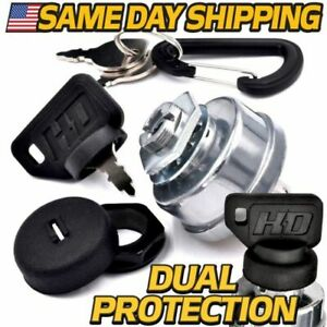 Starter Ignition Key Switch Replaces Scag 48798 with Dual Dust Shield System