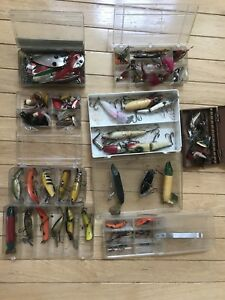Antique Vintage Fishing Lures - dating back to 1940s