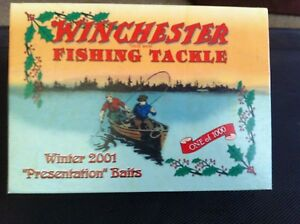 vintage Winchester replica lures