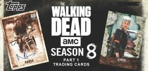 2018 Topps Walking Dead Season 8 Part One Parallel Cards MoldMud Pick From List