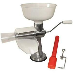 Food Strainers Weston And Sauce Maker For Tomato, Tomatoes Roma Suction Juice