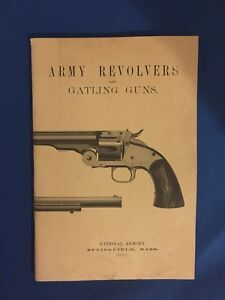 1875 RULES FOR THE INSPECTION OF ARMY REVOLVERS & GATTLING GUNS -1965 print
