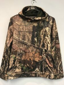 UNDER ARMOUR Young Boys  Camo Hunting Hoodie YLG MOSSY OAK Break Up Country