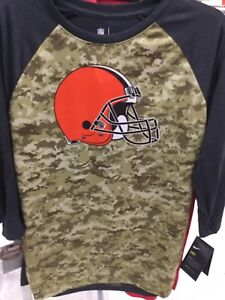 Nike Cleveland Browns Salute To Service DRI-FIT Shirt. Brand New. Adult Sz MED