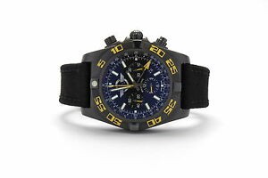 Breitling Chronomat GMT Jet Team LE MB0410 Auto PVD Steel Mens Watch Date