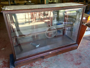 VINTAGE WINCHESTER ARMS DISPLAY CABINET: SHAPLEIGH HARDWARE - HUGE- BEAUTIFUL!