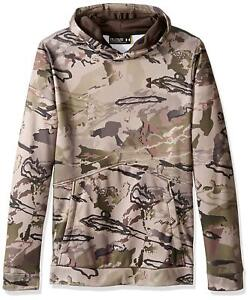 Under Armour Boys Youth UA Storm Icon Realtree & Mossy Camo Hoodie 1286119 S XL $29.99