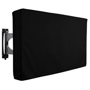 TV Cover Outdoor Black Weatherproof Dust-proof Protector for 30