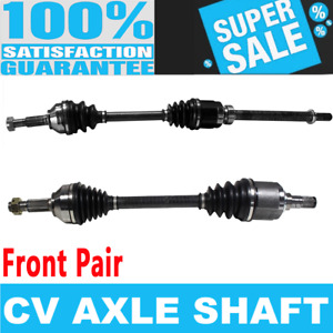 Front 2x CV Axle Shaft for ALTIMA ROGUE SENTRA FWD 2.5L Automatic Transmission