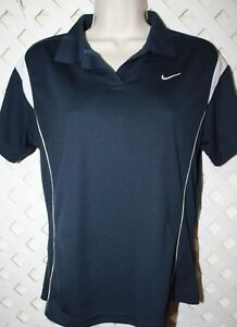 Nike Girls Size XL Short Sleeve Fit Dry Collared Shirt