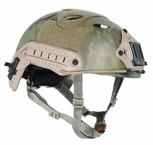 Airsoft Paintball Protective FAST Helmet PJ TYPE Cosplay A-Tacs FG F470 LXL