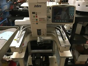 inBRO RSC 1201 COMMERCIAL EMBROIDERY MACHINE Single Needle 12 Thread