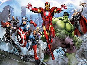 The Avengers CANVAS or PRINT WALL ART $19.00