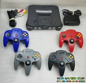 Nintendo 64 N64 Console System New Controllers *LIKE NW * RECONDITIONED IN