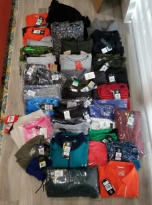 NWT +$2800 Wholesale Resale Under Armour Nike 46 Piece Men's Womens Clothing Lot