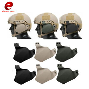 Tactical Side Cover for FAST Helmet Rail Military Combat Ear Protection Covers