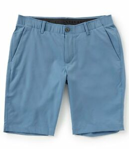 Under Armour UA Flat-Front Showdown Tapered Golf Shorts 1309548 Blue 588 Size 36