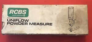 RCBS Uniflow Powder Measure - Large and Small Cylinders - Reloading