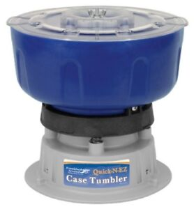 Quick-N-EZ 110V Vibratory Case Tumbler for Cleaning and Polishing for Reloading