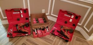 2 Hilti fully automatic fastening tool kits lightly used condition