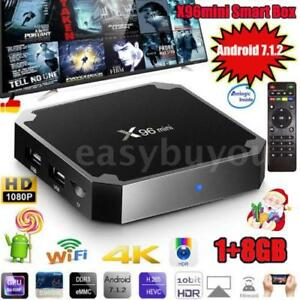 X96mini Android 7.1.2 TV Box Amlogic S905W Quad Core H.265 1GB8GB WiFi 4K 3D