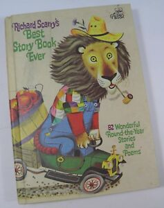 RICHARD SCARRY'S BEST STORY BOOK EVER A GOLDEN BOOK HARDCOVER