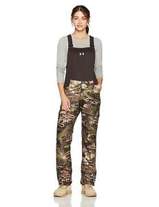 Under Armour Camo Hunting Stealth Bib Overalls women's SZ Large. $169.99 New!!!