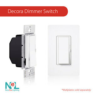 Single Switch & 3-Way Dimmer - LED Decora Dimmer Switch - LED 150W /CFL 600W