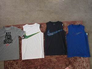Nike NWT Boys Dri-Fit shirts. SIZE LARGE AND XL ALL NEW WITH TAGS