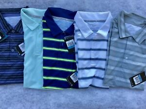 Lot of 5 NEW Nike Dri Fit Medium Golf Polo Tennis Shirts. Great Assortment M