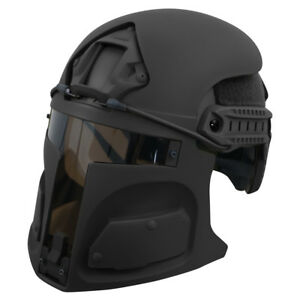 Bounty Hunter Helmet Mask for Ops-Core FAST (mask only) BLACK FREE SHIPPING