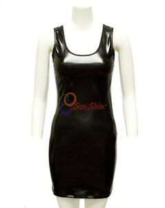 Spring Designer Lamb New Leather Women Dress Cocktail Stylish Party Wear  D-167