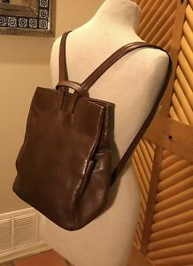 Ellington Leather backpackhandbagrucksack. Brown. Nearly New! Retailed  $245