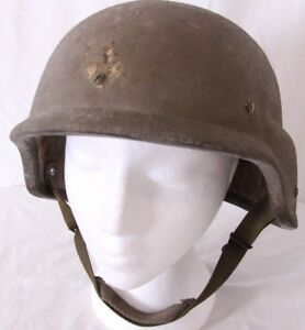 L-2 Military Army 86 Combat USGI PASGT Ground Troops Made with Kevlar Helmet
